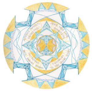 Mandala Vědomí sebe - 3.čakra